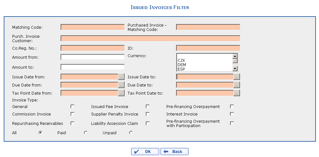 Receipt Form For Payment Pdf Invoices Issued Sample Invoice Format Word Excel with Cif Invoice Pdf Smart Filter For Issued Invoices Invoice Financing Definition Pdf